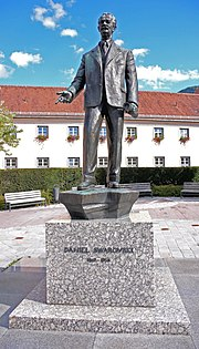 Fondateur d'entreprise Daniel Swarovski (1862 † 1956)