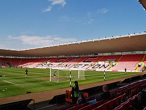 The Darlington Arena - The stadium in April 2009