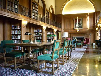 Dartmouth College - Tower Room in Baker Memorial Library