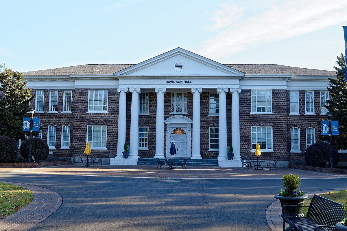 Coker College Campus Map.Davidson Hall Coker College Wikipedia