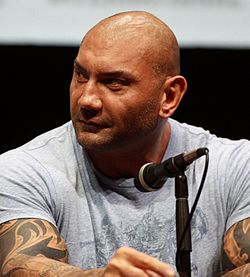 Dave Bautista al San Diego Comic-Con International, nel 2013