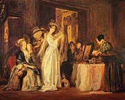 David Wilkie (1785-1841) - The Bride at her Toilet on the Day of her Wedding - NG 1445 - National Galleries of Scotland.jpg