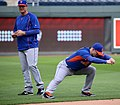 David Wright stretches on -WSMediaDay (22712478410).jpg