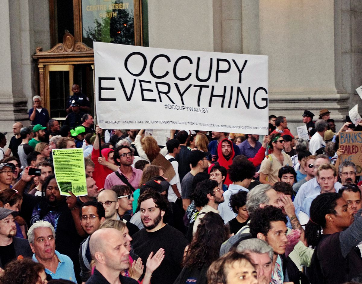 assignment 1 occupy wall street movement Occupy atlanta camp cleared, dozens arrested has expressed sympathy with the goals of the occupy wall street movement on assignment ep 1: children of.