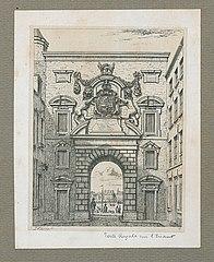 De Koninklijke Poort, met zicht op de Schelde