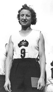 Decima Norman Australian sprinter and long jumper