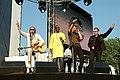 Deine Stimme Gegen Armut P8 concert Bob Geldof, Youssou N'Dour, Campino & Bono (535302089).jpg