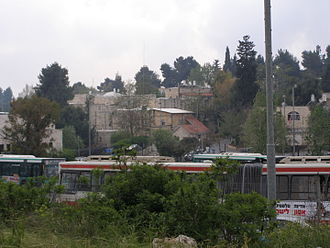 Deir Yassin - The villages' houses and its school are now used by the Kfar Shaul Mental Health Center, an Israeli public psychiatric hospital.