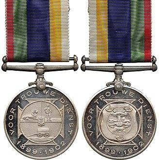 Dekoratie voor Trouwe Dienst - Image: Dekoratie voor Trouwe Dienst