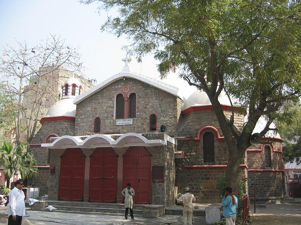 Delhi, Holy Trinity Church (Turkman gate)