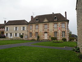 The town hall in Delincourt