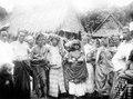 Deltagare i en dödsfest. Lindoe, Paloe, Mellan-Celebes, Celebes. Lindu, Sulawesi. Indonesien - SMVK - 000244.tif