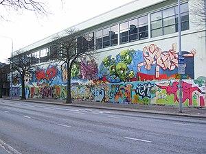 Ole Landmark - Image: Den femte veggen