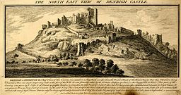 Denbigh Castle, Buck brothers.jpg