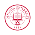 Denison University Seal in Red.png