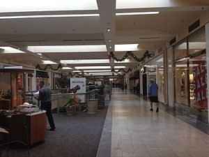 Deptford Mall - The second floor of the Deptford Mall looking from Sears