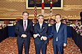 Deputy Secretary Blinken Poses for a Photo With Japanese Vice Foreign Minister Sugiyama and Republic of Korea First Vice Foreign Minister Lim in Tokyo - Flickr - U.S. Department of State.jpg