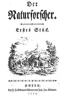 <i>Der Naturforscher</i> journal