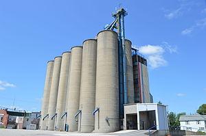 Deshler, Ohio - Community grain elevator