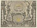 Design for a theater set created by Giacomo Torelli da Fano for the ballet 'Les Noces de Thétis', from 'Décorations et machines aprestées aux nopces de Tétis, Ballet Royal' MET DP855549.jpg