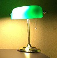 Banker S Lamp