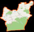 Deszczno (gmina) location map.png