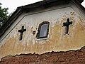 Detail štítu domu, Výžerky.JPG