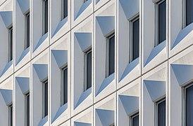 Detail of Distinction Hotel facade, Christchurch, New Zealand.jpg