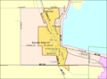 Detailed map of Lakeview, Ohio.png