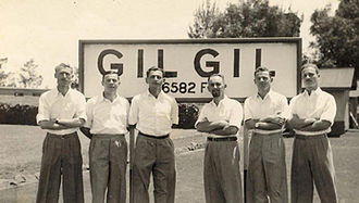 Shmuel Tamir -  Tamir (second from right) in 1945 with other Irgun detainees in Eritrea; on right is Meir Shamgar, future President of Israel's Supreme Court, and third from right is Dov Milman, future Israeli Knesset member and Ambassador