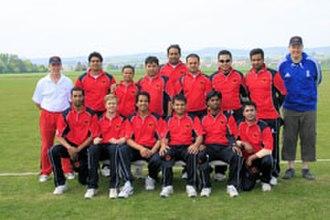 Germany national cricket team - German national cricket team 2012