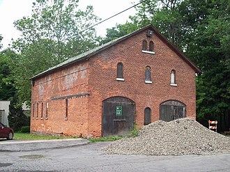 Deveaux School Historic District - Image: Deveaux School Historic District Barn Jun 09