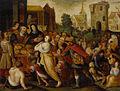 Die Sieben Werke der Barmherzigkeit flämisch 17Jh.jpg