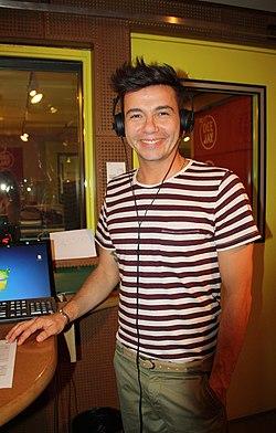 Diego Passoni a Radio DJ - 30 maggio 2012 - Foto Giovanni Dall'Orto, 30 maggio 2012.jpg