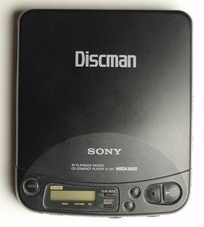 Discman Sonys portable CD player