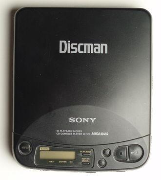 Discman - Sony Discman D121
