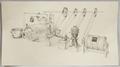 Disegno raff. distribuzione forza motrice nel caseificio - Musei del cibo - Parmigiano - 166a.tif