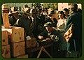 Distributing surplus commodities, St. Johns, Ariz. LCCN2017877631.jpg
