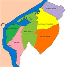 Asunción Wikipedia - Where is asuncion