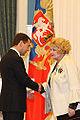 Dmitry Medvedev with Tatiana Doronina.jpg