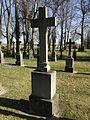 Dobbertin Klosterfriedhof Grabstein Ottilie von Behr Reihe 3 Platz 9 2012-03-23 293.JPG