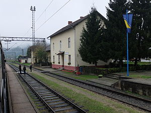 Dobrljin - Railway station