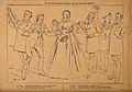 Doctors and pharmacists surround a mother with child, proffe Wellcome V0011923.jpg