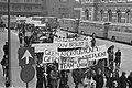 Dolle Minas en progressieve vrouwen protesteren in Utrecht tegen nieuwe Arbortus, Bestanddeelnr 925-3961.jpg