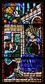 Domenico ghirlandaio (dis., attr.), vetrate di santa maria delle carceri, 1491, annunciazione.jpg