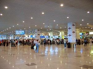 Domodedovo International Airport bombing - Domodedovo Airport's passenger terminal (2007)