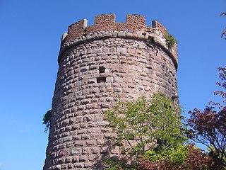 Château du Haut-Ribeaupierre castle