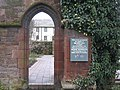 Doorway into St. Nicholas Tower Chapel gardens - geograph.org.uk - 127214.jpg