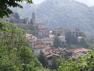 Dossena Comune in Lombardy, Italy