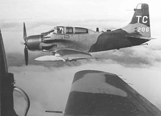 1st Special Operations Squadron - A-1E Skyraiders of the 1st SOS.